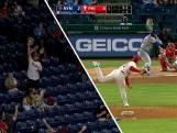 Phillies-fan vangt bal met 156km per uur alsof het niets is
