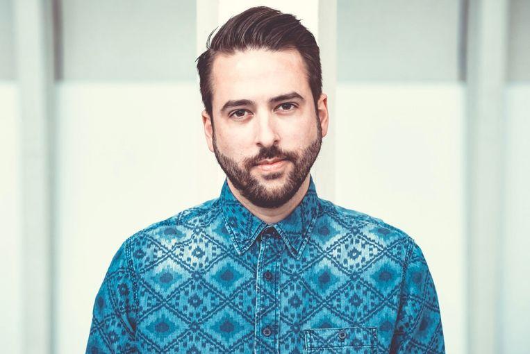 DJ Licious, bekend als resident dj bij Studio Brussel.  Beeld DJ Licious
