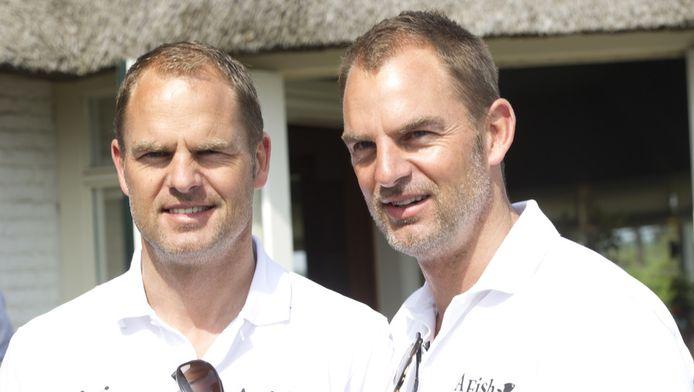 Frank (links) en Ronald de Boer.