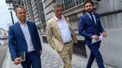 Drie Koningen zaten samen met sp.a-voorzitter Rousseau