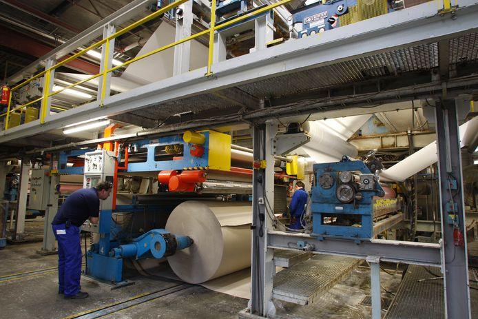 Deze foto werd gemaakt in 2008, toen Solidus Solutions nog Fibor Packaging heette. Het Zutphense bedrijf in massief kartonnen verpakkingen werd in 2016 overgenomen.