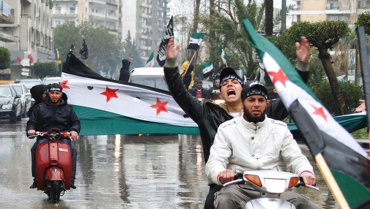 Protesten in Homs. Beeld reuters