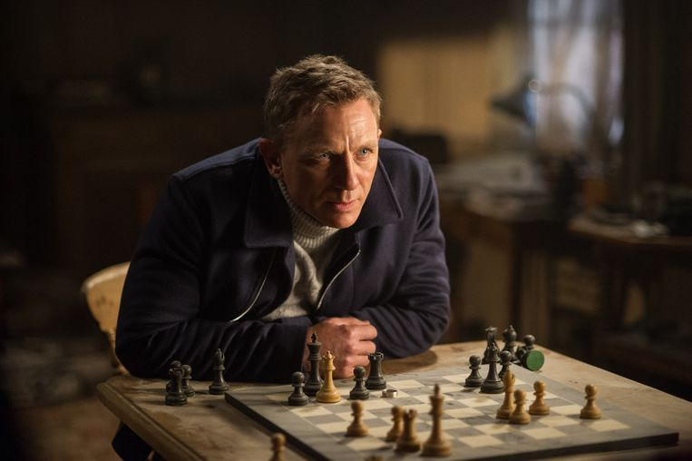 Daniel Craig als James Bond in Spectre. Beeld