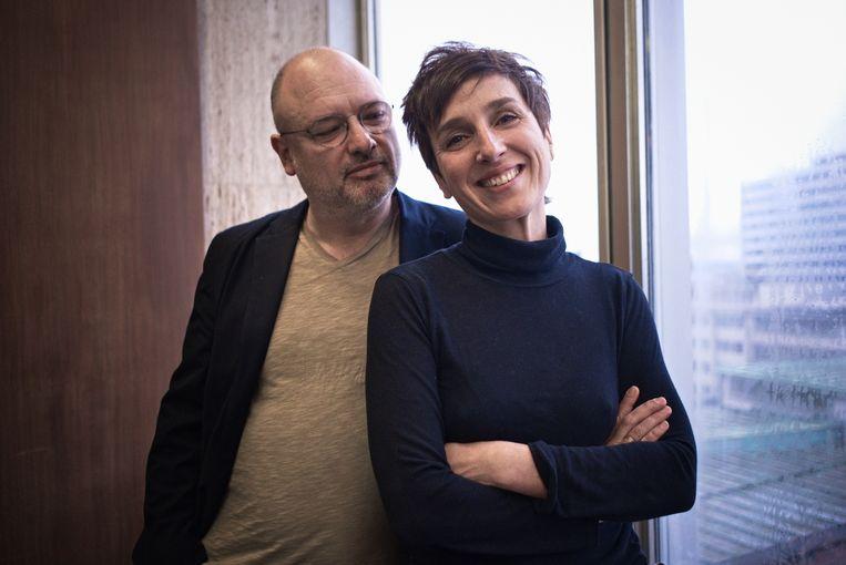 Regisseurs Frédéric Fonteyne en Anne Paulicevich. Beeld -