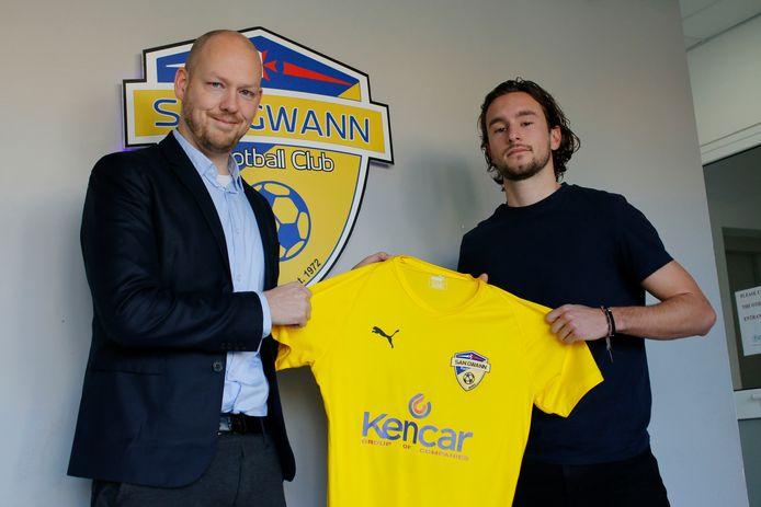 Paul Driessen en Sjaak Kuyper.