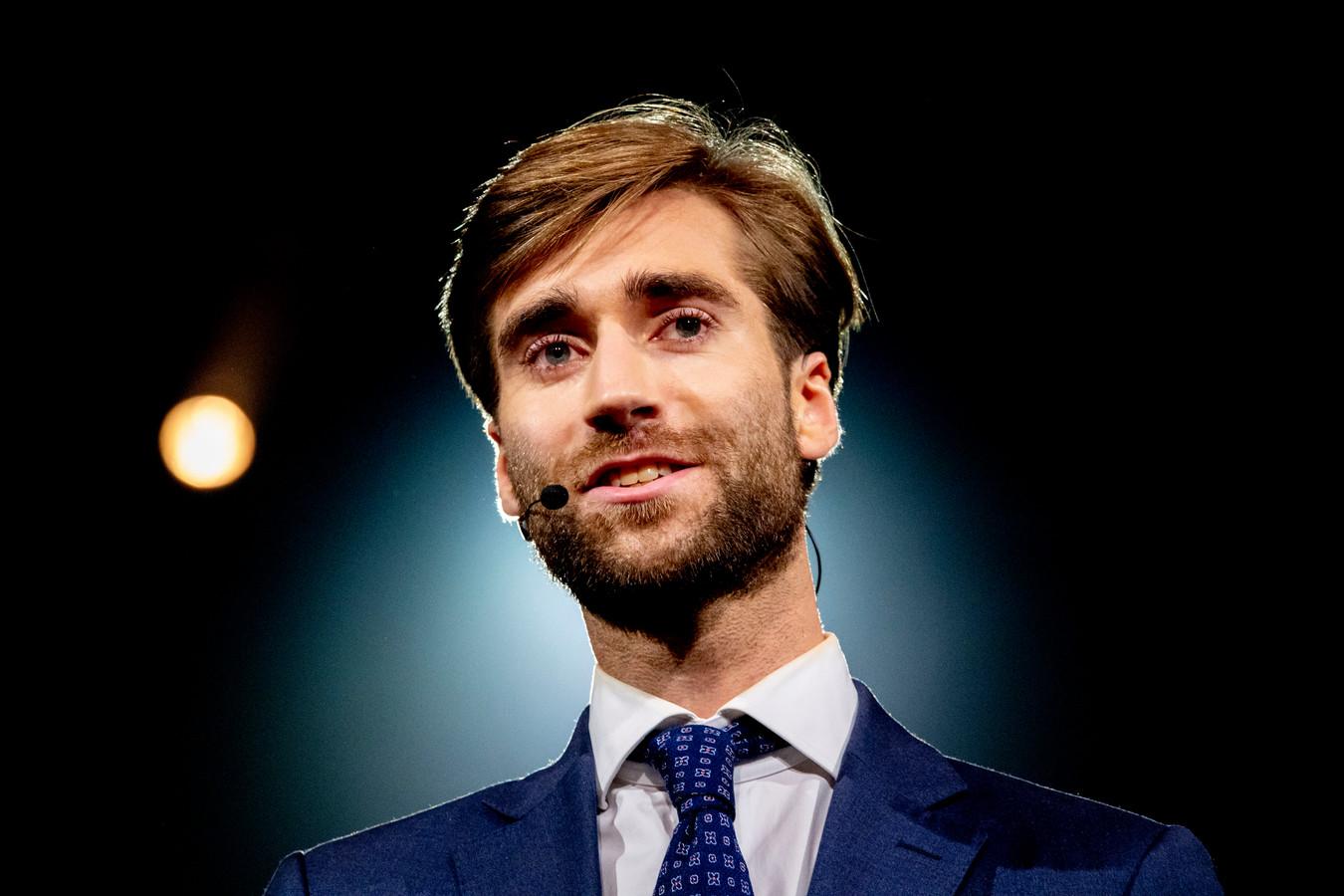 JFvD-voorzitter Freek Jansen.