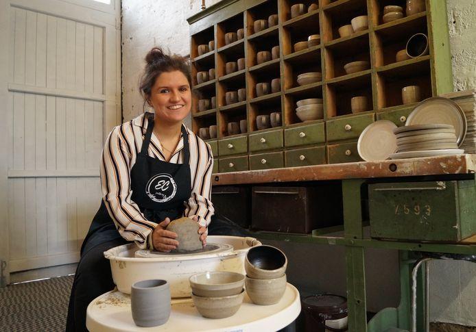 Elise Cornelissens houdt met hart en ziel van haar hobby