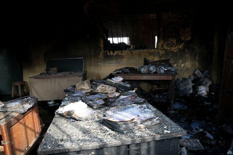 De aanvallers wisten de gedetineerden te bevrijden met gebruik van explosieven. Beeld REUTERS