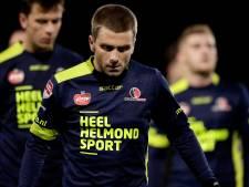 Helmond Sport ontbindt contract van aanvaller Mutzers