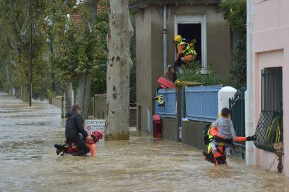 Grote reddingsoperatie in rampgebied Zuid-Frankrijk na noodweer, al 11 dodelijke slachtoffers