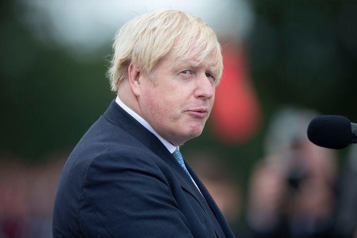 Brits premier Boris Johnson