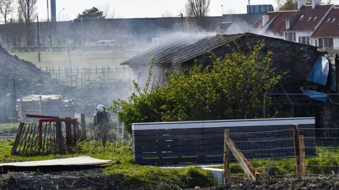 Brand gesticht in oude, verlaten woning: wellicht kattenkwaad