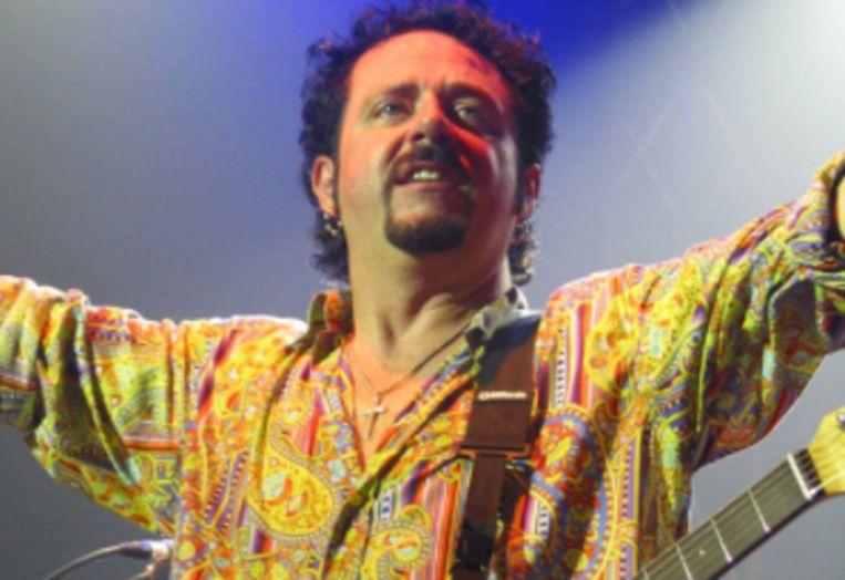 Toto-zanger Steve Lukather. Beeld rv