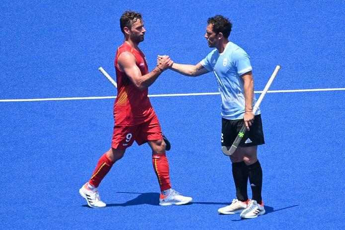 Sébastien Dockier a permis à la Belgique de s'imposer contre l'Argentine en amical, à quatre jours de l'ouverture du tournoi olympique.