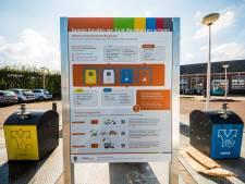 Milieupleinen op De Thij en in Zuid-Berghuizen blijven populair bij Oldenzalers die makkelijk van hun afval af willen
