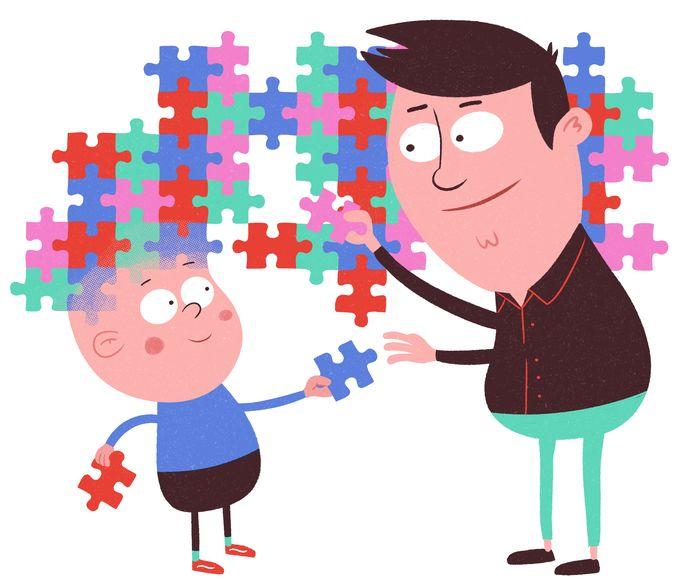 Als ouder of partner van iemand met autisme moet je rekening houden met veel planning.