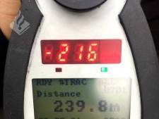Vier snelheidsduivels verliezen rijbewijs in Hilversum