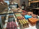 Het is chocola en ijs troef bij de nieuwe zaak van Lorkeers op het Henri Dunantplein.