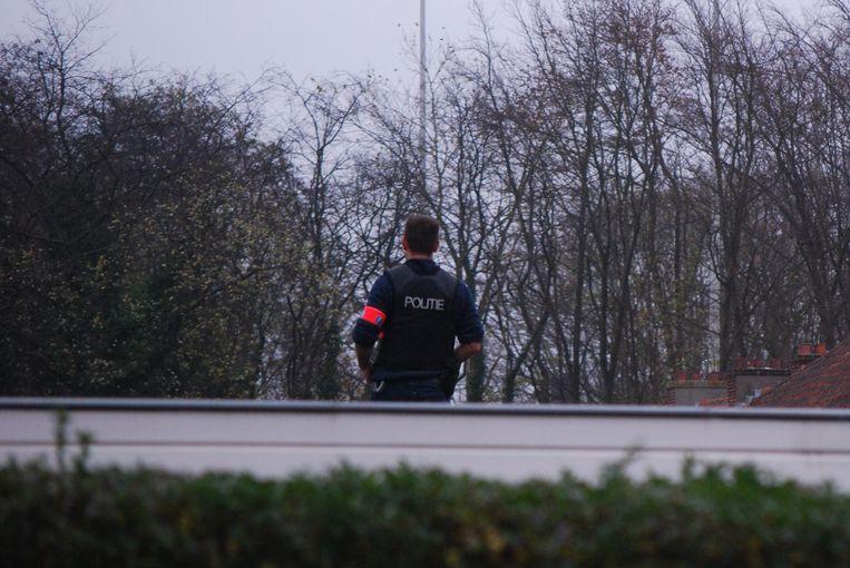 De politie zocht massaal naar de verdachten