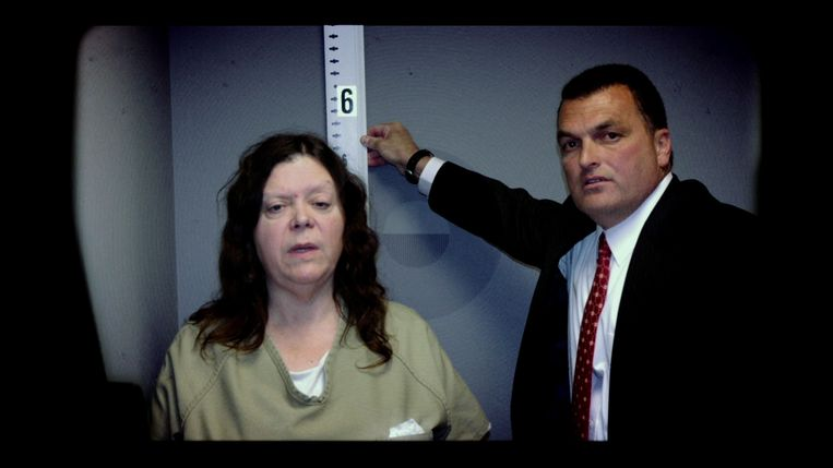 Een still uit 'Evil Genius: The True Story of America's Most Diabolical Bank Heist.'  Beeld AFP