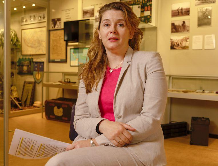Palmyra Westerling, dochter van Raymond Westerling. Beeld Suzanne Liem