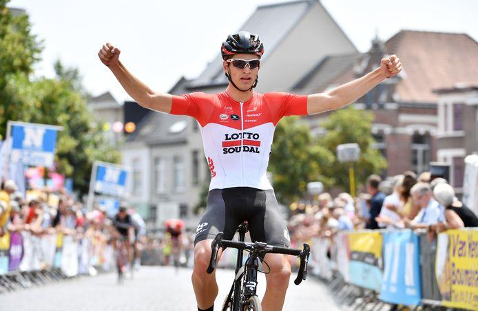 Brent Van Moer won de eerste GP Rik Van Looy in 2018