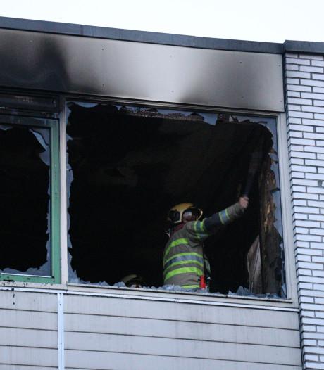 Tiener naar ziekenhuis na brand in slaapkamer Overvecht