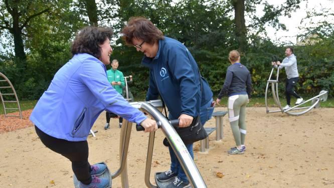 Clingenaren kunnen zich in het zweet gaan werken: beweegpark geopend