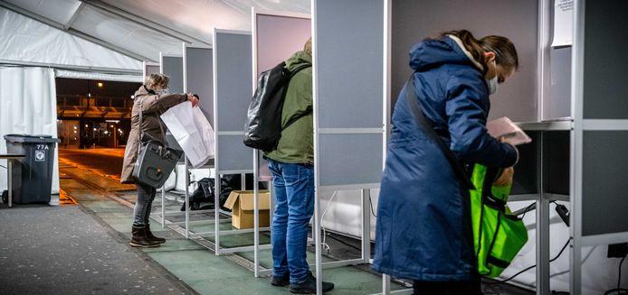 Stemmen in Nijmegen.