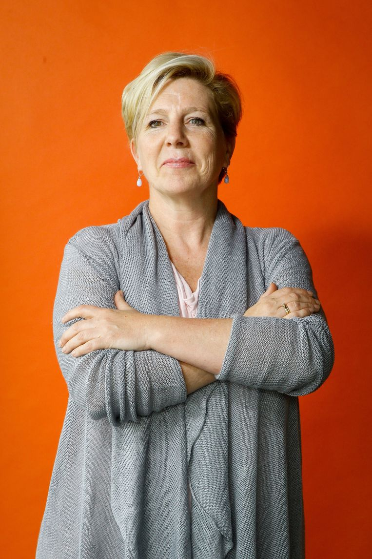 Maud Van de Velde. Beeld Photo News
