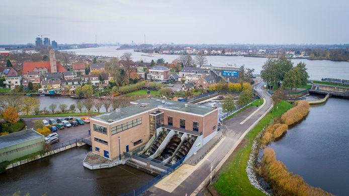 Het J.U. Smitgemaal in Kinderdijk.