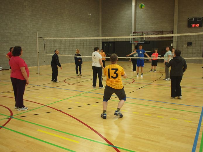 VC Panda's start een proefproject rond G-volleybal.