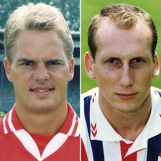 Frank de Boer en Jaap Stam in 1996.