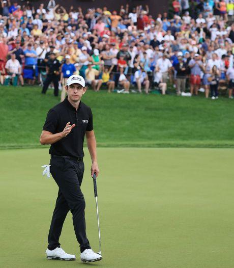 Golfer Cantlay profiteert van dramatische aftocht Rahm en wint ruim 1 miljoen euro