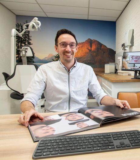 Jörn Varwijk (38) uit Losser innovatief met Smilemakerz: 'Van eigen tanden naar kunstgebit in één behandeling'