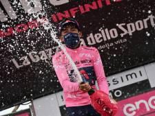 Bernal vindt niet dat Giro gelopen koers is: 'Er kan nog veel gebeuren'