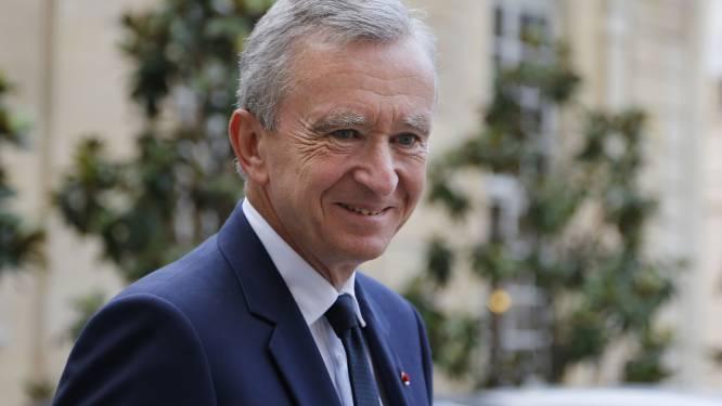 Bernard Arnault pompt nog 2,1 miljard in België