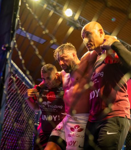 Dion 'Soldier' Staring onder de indruk na laatste MMA-gevecht: 'Echt heftig'