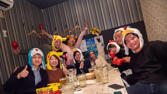Als Japanner heb je geen keus als je baas je meevraagt naar een karaokebar
