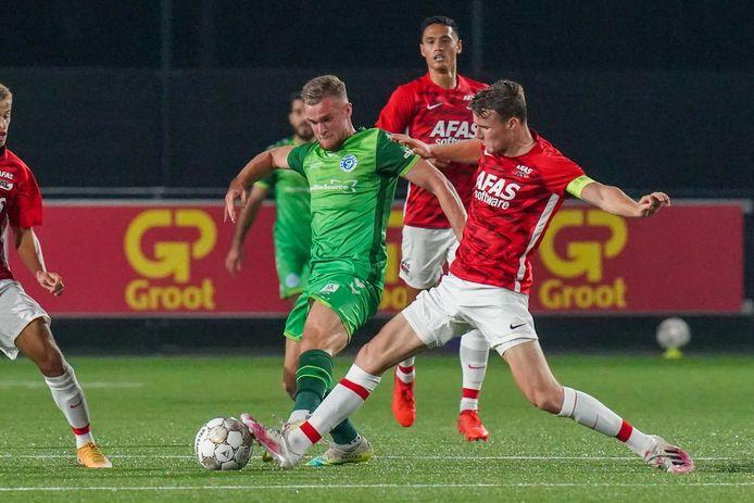 Joey Konings is de vervanger van Ralf Seuntjens bij De Graafschap.