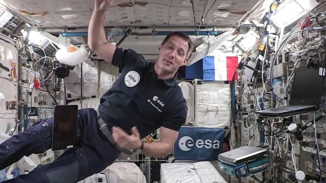 Thomas Pesquet devient commandant de l'ISS