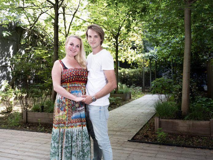 Lesley-Ann Poppe en Kevin.