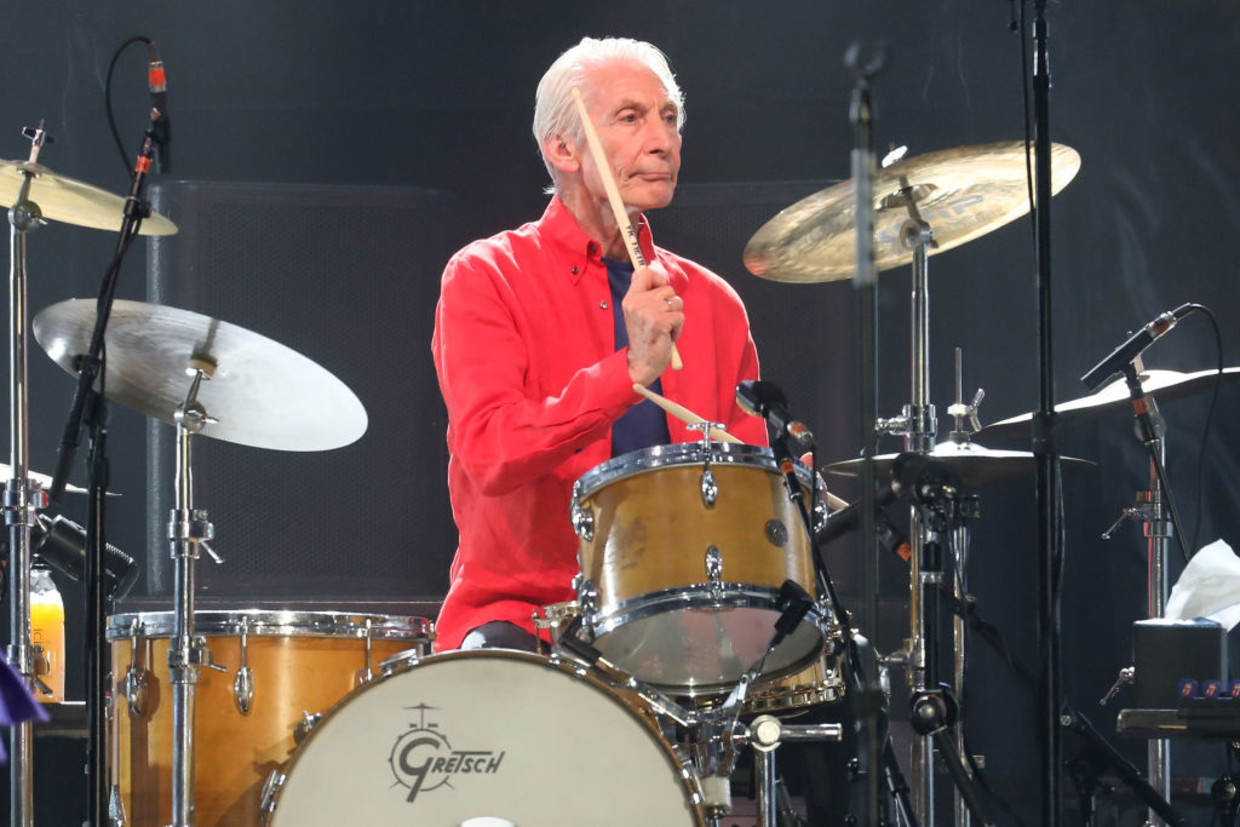 Charlie Watts in 2019 Beeld Getty Images