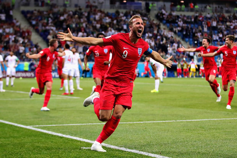 De Engelse speler Harry Kane heeft dit WK al vijf keer gescoord.