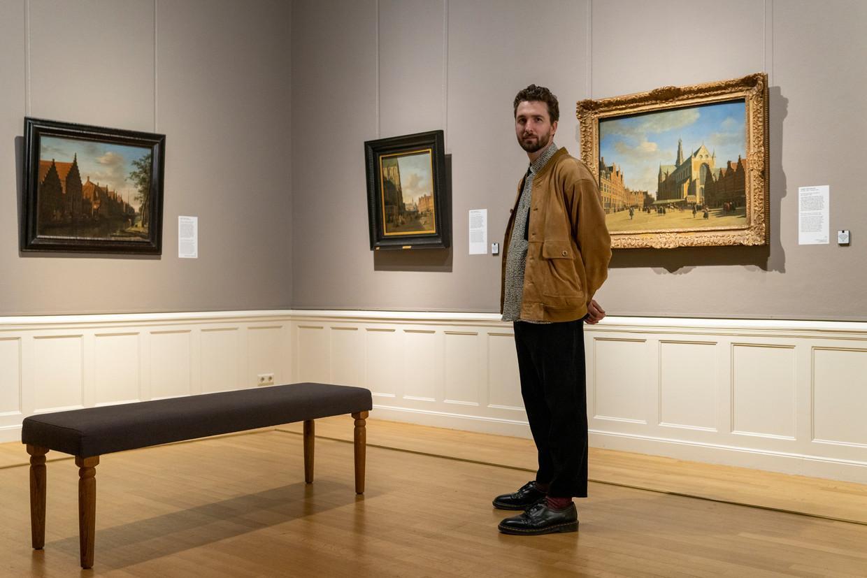 Will Knox in het Frans Hals Museum in Haarlem. Beeld Jordi Huisman