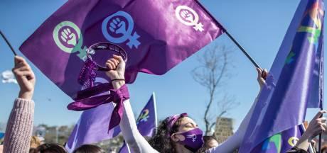 Opnieuw protest in Istanboel tegen opzeggen vrouwenverdrag