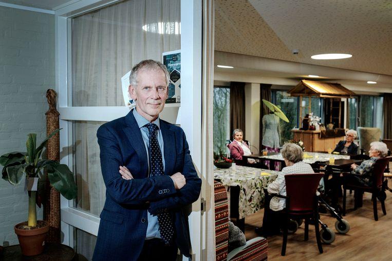 Directeur Kees Jan Metz van verzorgingshuis Het Wereldhuis in Boxtel. Beeld Merlin Daleman