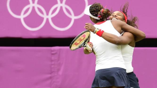 Les soeurs Williams conservent l'or du double dames