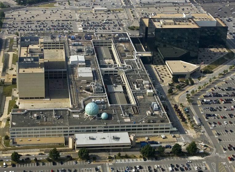 Het hoofdkantoor van de NSA. Beeld afp
