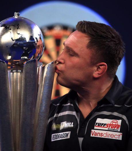 Price verslaat Anderson in WK-finale na zenuwachtig slot en lost Van Gerwen af als nummer één